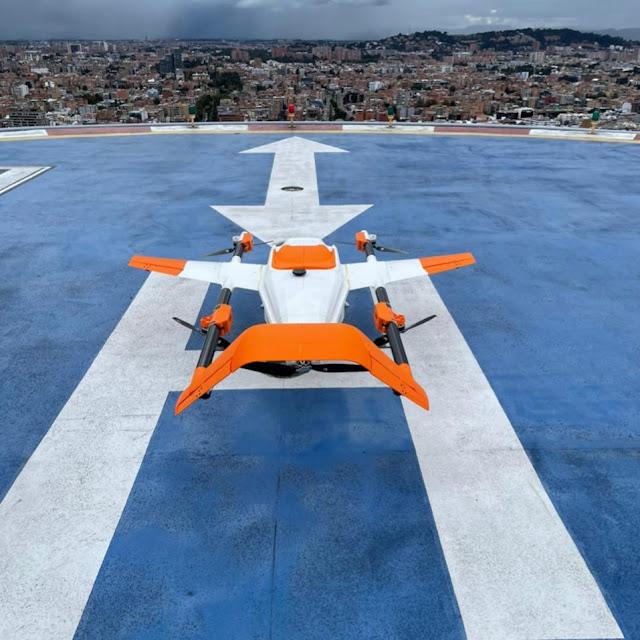 Se lanza en Colombia la primera plataforma de drones autónomos con capacidad de distribuir carga a nivel nacional