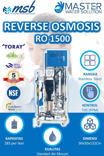 reverse osmosis industri sedang