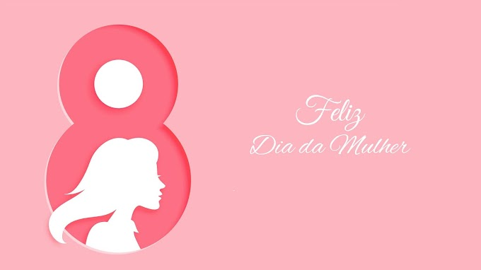 Plano de Fundo Feliz Dia da Mulher
