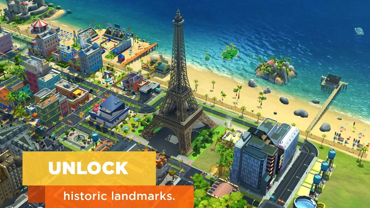 SimCity BuildIt Mod Latest Apk Unlimited Money