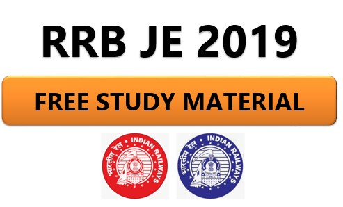 RRB JE Free Study Material | Books |PDF| Notes|Free|maths|Reasoning