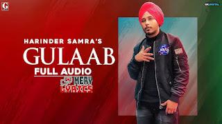 Gulaab By Harinder Samra - Lyrics