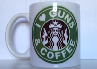 caneca i love guns coffee