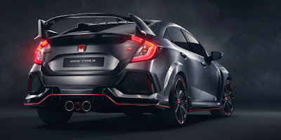 It's the new Honda Civic Type R 2017