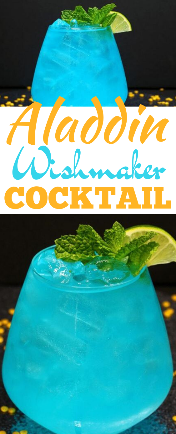 Wishmaker Aladdin Cocktail #drinks #alcohol #cocktails #adult #beverages
