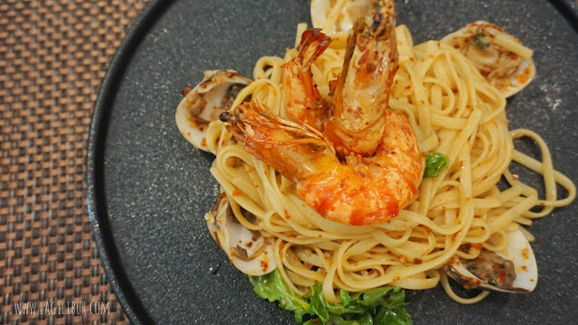 Signature Seafood Pasta Oldtown White Coffe Cafe