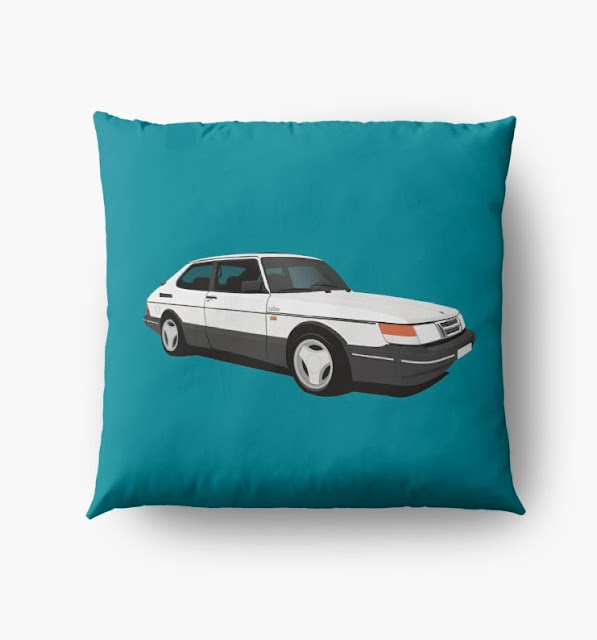 Saab 900 Turbo Aero home decor