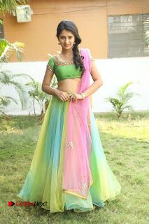 Actress Nikitha Bisht Stills in Lehenga Choli at Pochampally Ikat Art Mela Launch  0412.JPG