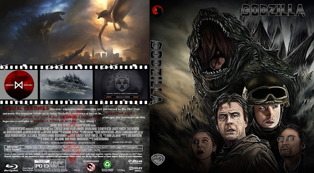 Godzilla Bluray Cover