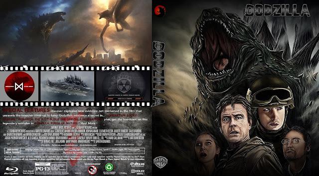 Godzilla Bluray Cover