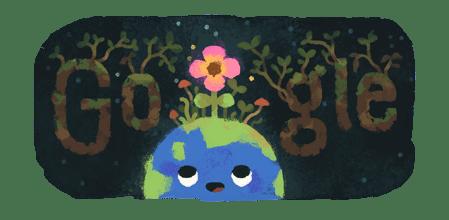 Google Doodle Celebrating Today