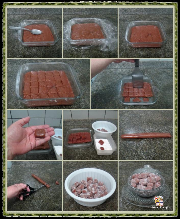 Bala de morangos 4