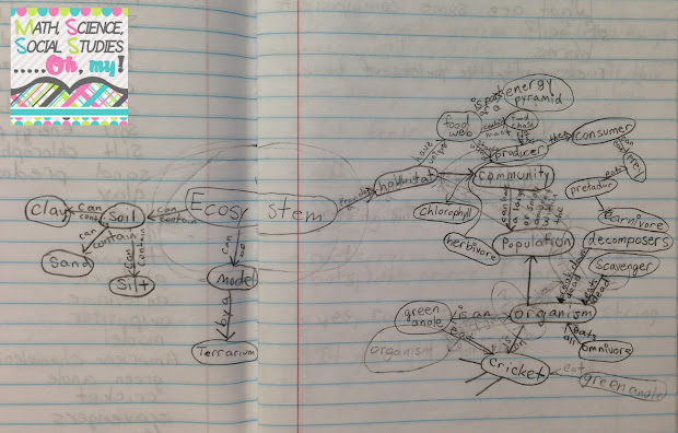 Math Science Social Studies. Concept Mapping