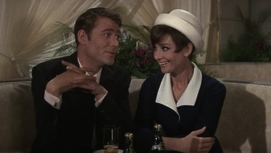 Image result for peter o'toole and audrey hepburn in how to steal a million