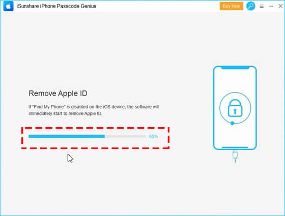 remove Apple ID directly