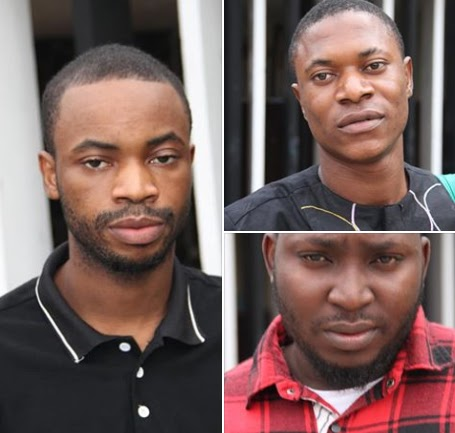 10 Internet Fraudsters Jailed - See photos