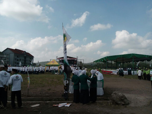 #HariSantri 2016 - Kirab Hari Santri - Di Ponpes Darussalam Blok Agung Banyuwangi Jawa Timur, Kamis (13/10/2016)