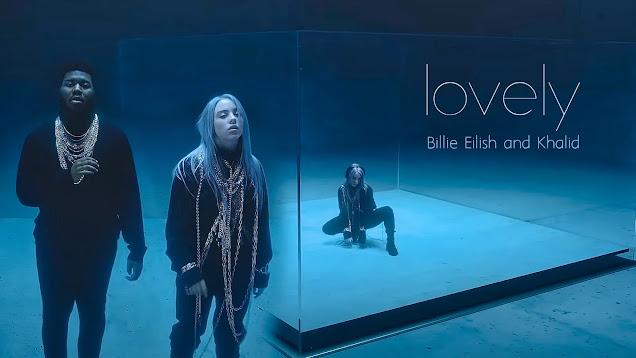 lovely Billie Eilish & Khalid