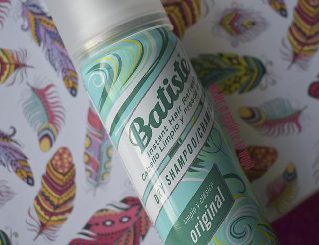 Dry Shampoo Original de BATISTE - el mejor champú en seco