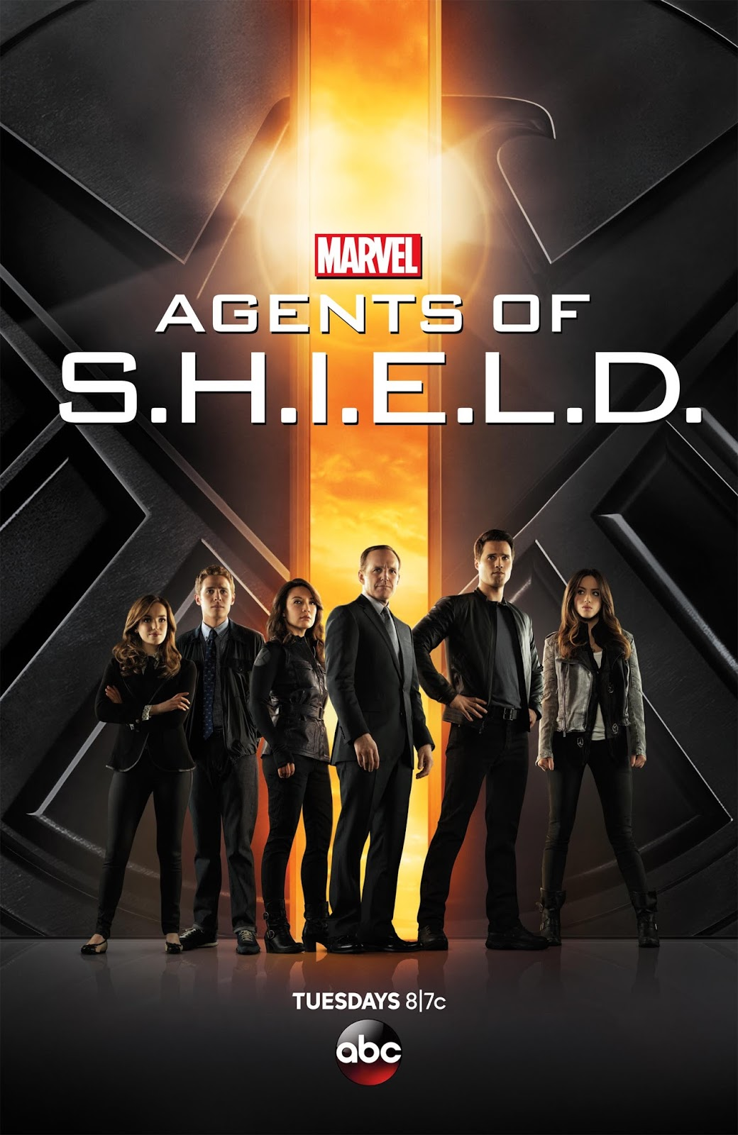 Marvel's Agents of S.H.I.E.L.D. Serie Completa Dual Latino/Ingles 1080p