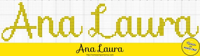Nome Ana Laura em Ponto Cruz