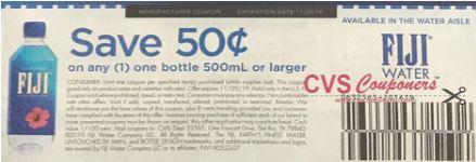 Fiji Water Bottle coupon