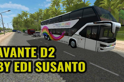 Download MOD BUSSID Avante D2 By Edi Susanto
