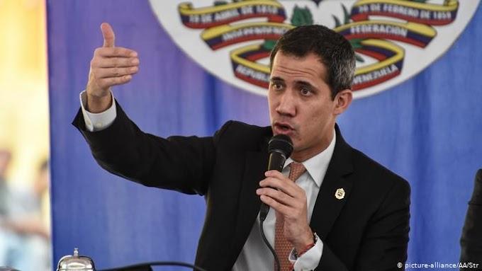 Guaidó defende sanções internacionais contra governo Maduro