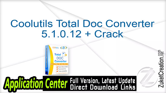 Coolutils Total Doc Converter 5.1.0.12 + Crack