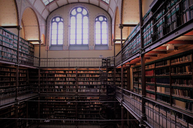 Library, Amsterdam - Photo by Mara Conan Design on Unsplash