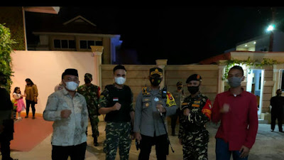 Banser Ansor Kota Gorontalo ikut amankan perayaan Natal 2020