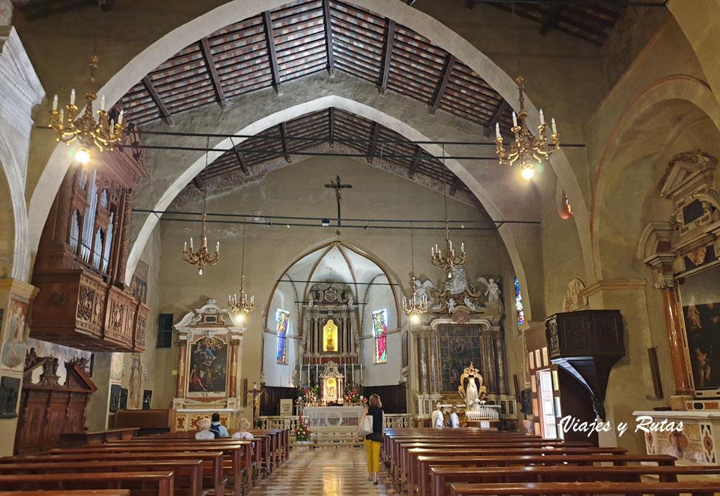Iglesia de Santa María de las Nieves de Sirmione