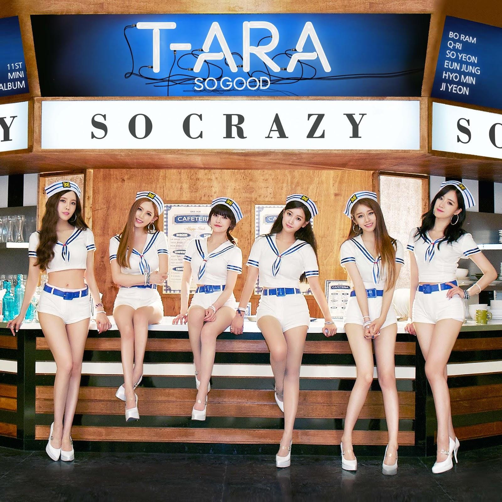 T-ara So Crazy (완전 미쳤네) Album Cover