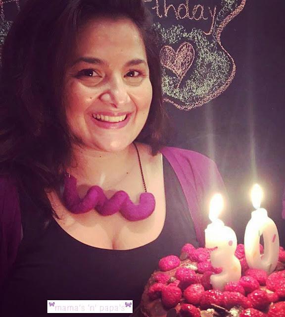 Happy my thirty birthday!