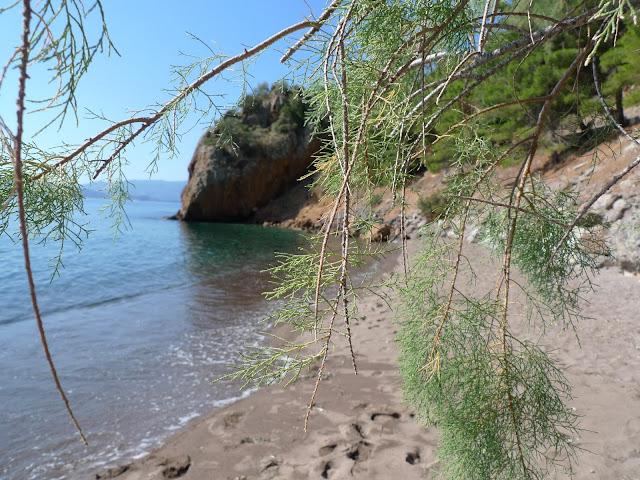 Najpiękniejsza plaża Methany - La Playa/The most beatiful beach on Methana - La Playa