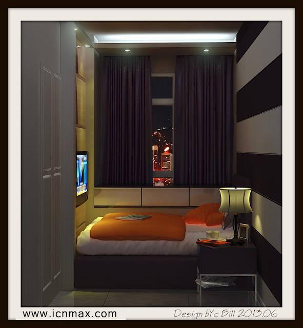 3dsMax臥室設計作品