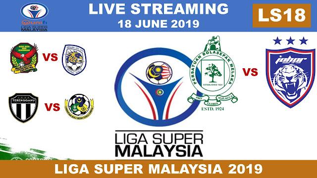 Live Liga Super Malaysia 2019