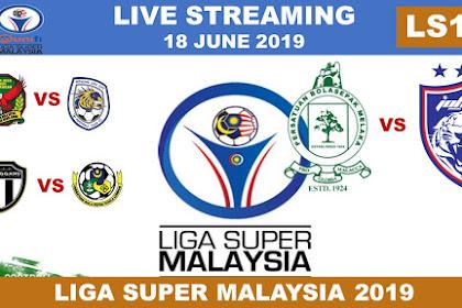 Live Streaming Melaka United Vs JDT Liga Super Malaysia 26 June 2019