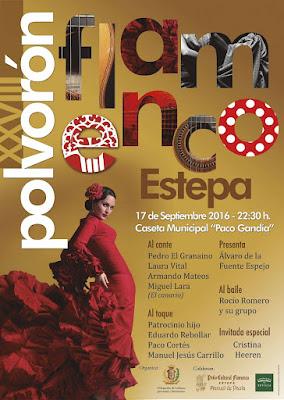 Polvorón Flamenco de Estepa 2016