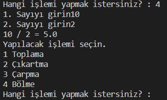 Python Basit Hesap Makinesi Yapımı