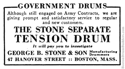 George B. Stone & Son Advertisement, September 1918