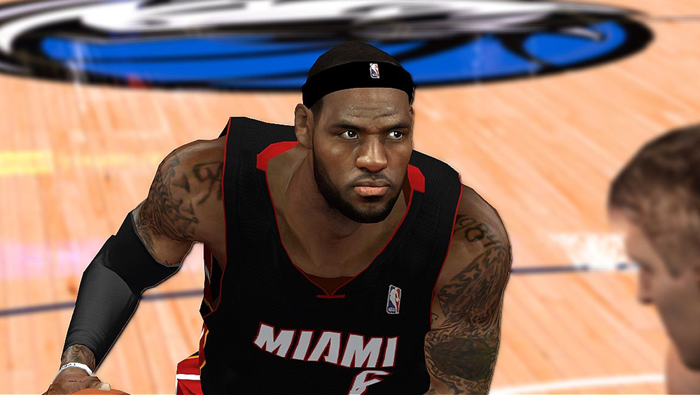 LBJ Cyberface Patch