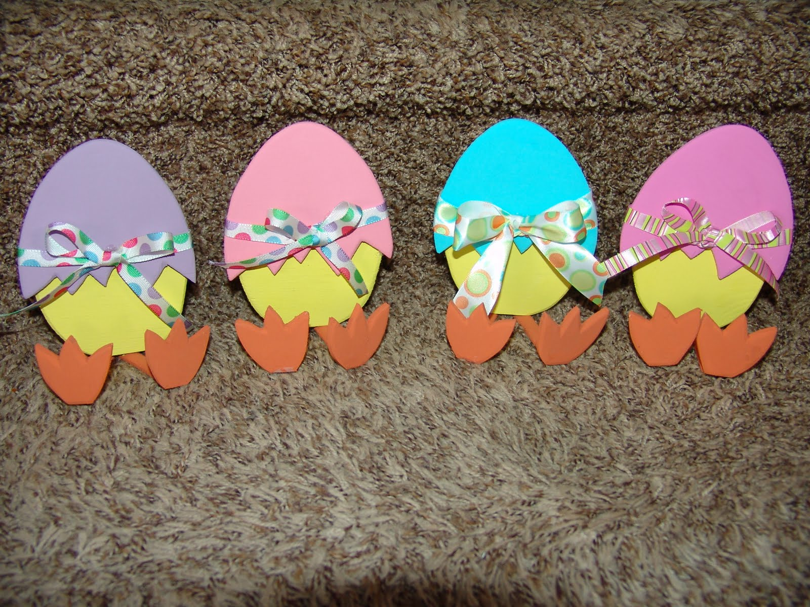 Easter Chick Crafts Easter Craft Handmade