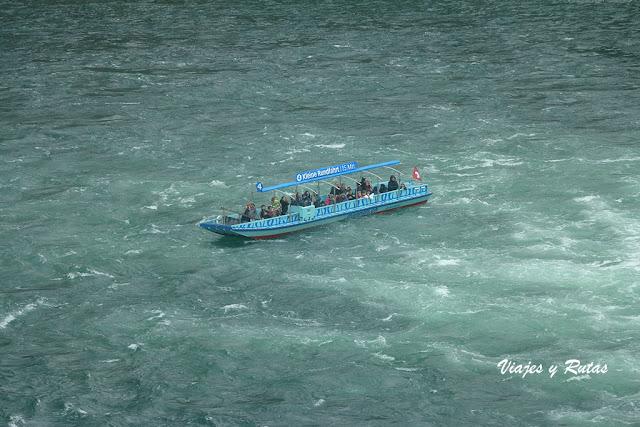 Barco de las cataratas del Rin