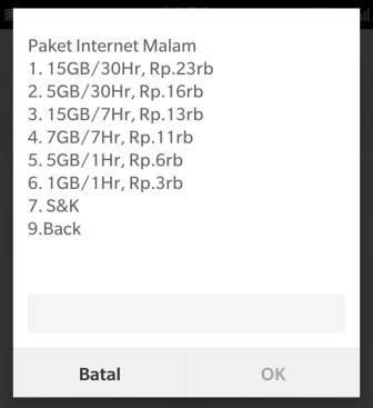 Paket Internet Telkomsel Murah Bulanan
