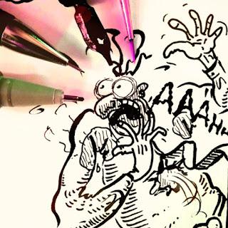 Comic Zeichenkurs, Comicworkshop, Comicschule MirRoy