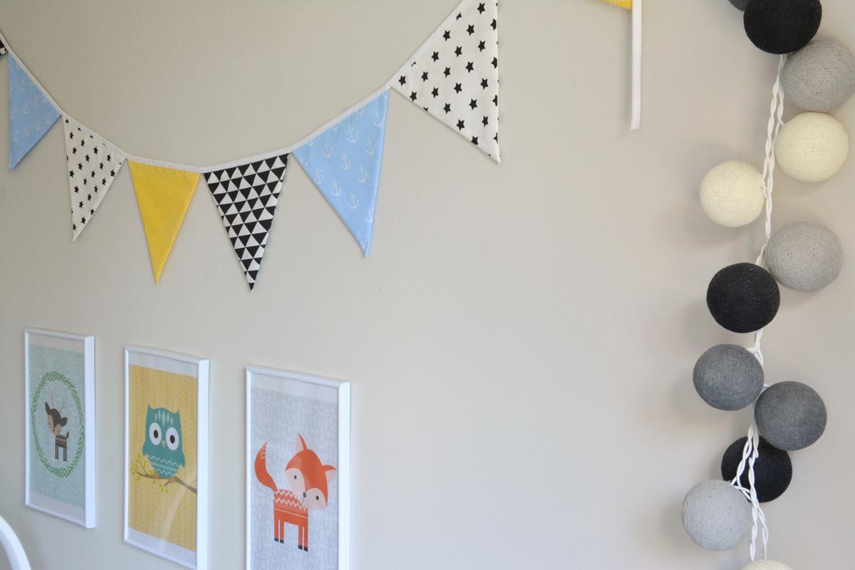 dekoracje w pokoju niemowlaka