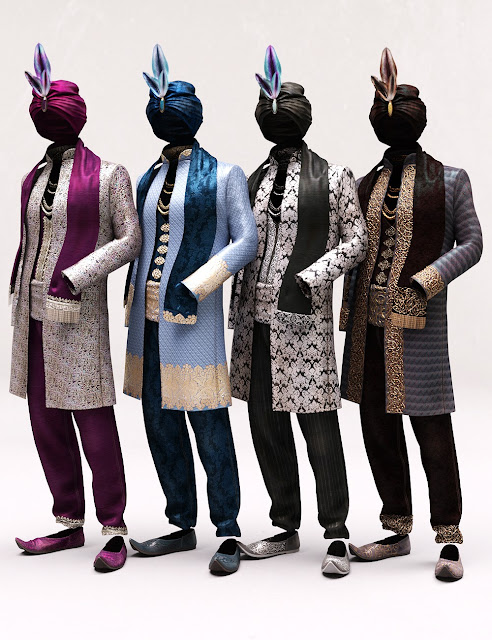 Arabian Prince Outfit Textures