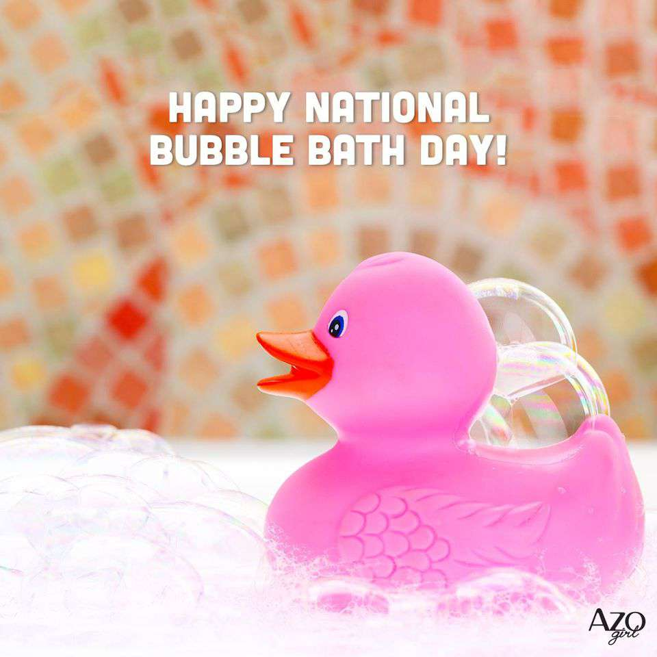National Bubble Bath Day Wishes