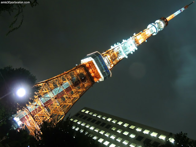 Torre de Tokio Iluminada
